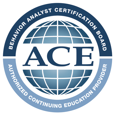 Behavior Analyst Certification Board Authorized Continuing Education (ACE) Provider logo